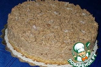 Рецепт: Торт Пища Богов
