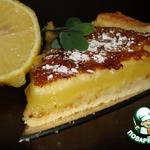 Лимонный пирог фасон Крем-брюле