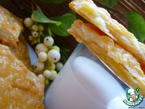 Potato puffs with cheese
