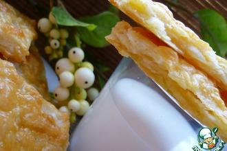 Рецепт: Слойки картофельные с сыром Я вкусная