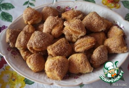 Творожное печенье Ушки