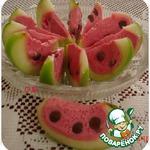Десерт Арбузные дольки