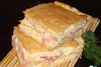 Рецепт: Пирог Сырное суфле