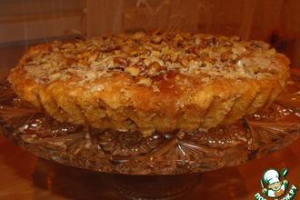 Рецепт: Мокрый яблочный пирог