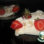 Торт Сметанный с клубникой без выпечки