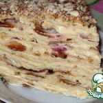 Торт слоеный сливочный Сашка