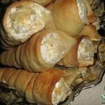 Пирожные Слоеные трубочки