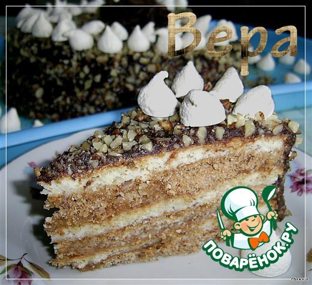 Торт  Машенька и медведь