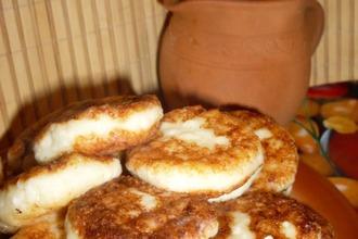 Рецепт: И снова сырники