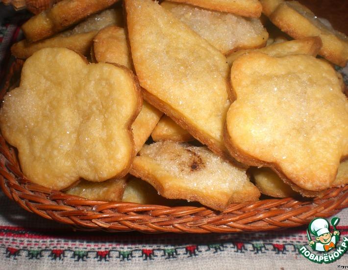 Рецепт: Печенье Минутка