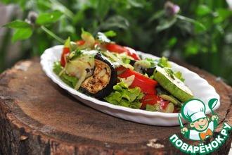 Рецепт: Грилованные овощи от Танюши