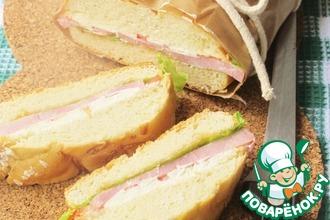 Рецепт: Пресс Сэндвич