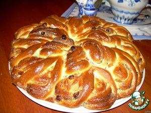 Рецепт Пирог-рулет из Венского теста