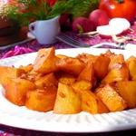 Гуляш из картофеля