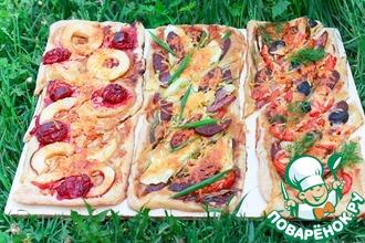 Рецепт: Слоеные пироги для пикника