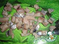 Рыбный салат с хреновой заправкой ингредиенты
