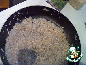 Mix rice wine and evaporate the liquid (for me it takes 3-5 minutes)
