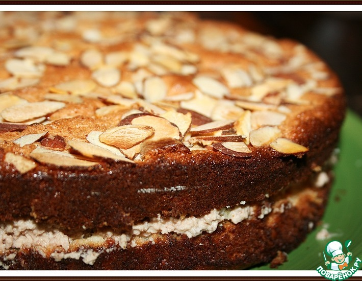 Рецепт: Ореховая Нежность