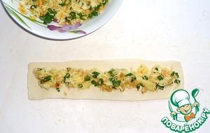 Хрустящие палочки с начинкой – кулинарный рецепт