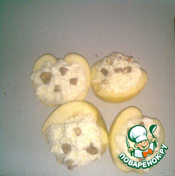 Творожные яблоки
