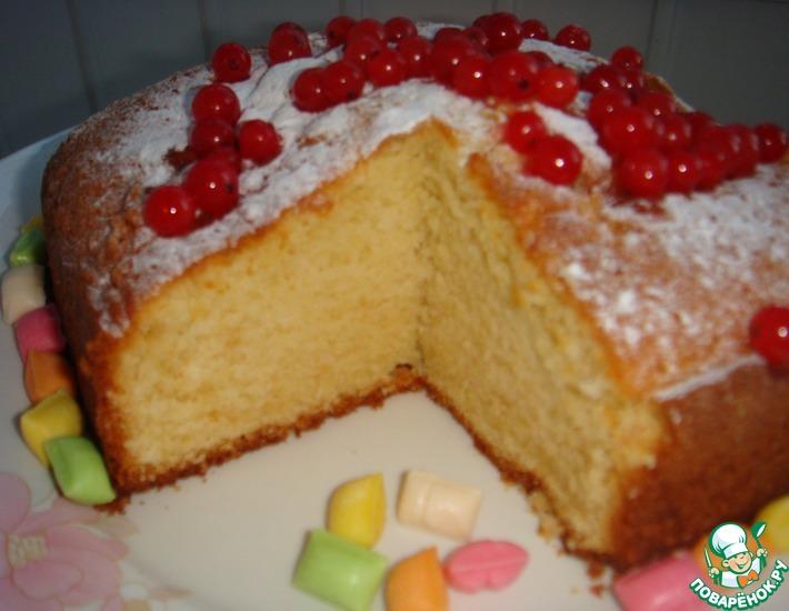 Рецепт: Английский пирог Фунт