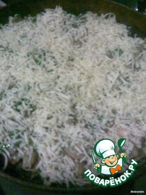 """Рисовая запеканка""""Грибница"""" – кулинарный рецепт"""