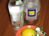 Лимонная водка ингредиенты