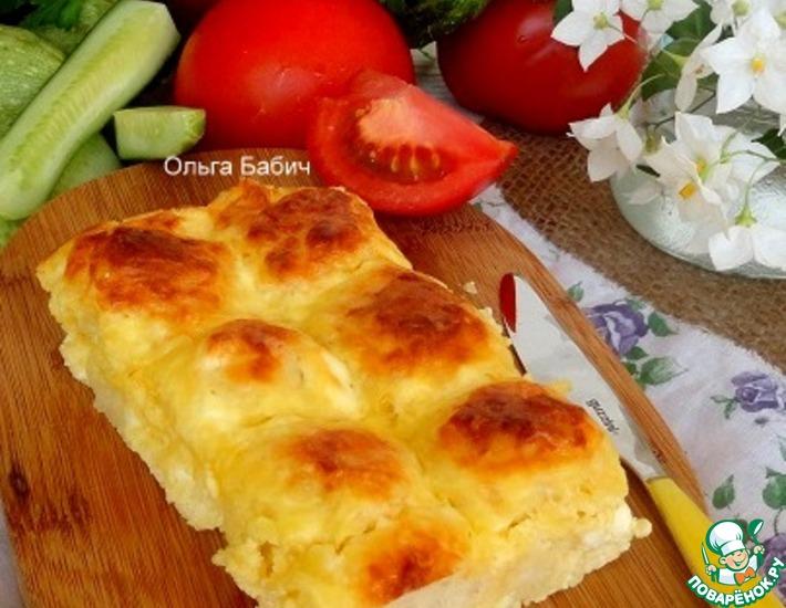 Рецепт: Пирог Три сыра