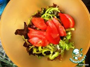 Tomato slices,