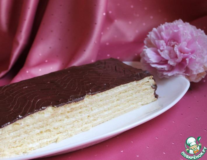 Рецепт: Торт шоколадно-песочный
