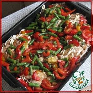 Курица с овощами – кулинарный рецепт