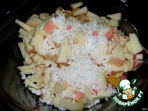 Добавляем сироп (я всегда добавляю ананасовый поглотитель жира - он и вкусный и полезный) или что хотите, а еще он и