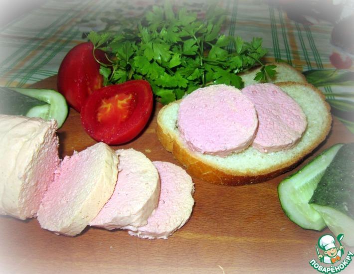 Рецепт: Детская вареная колбаса