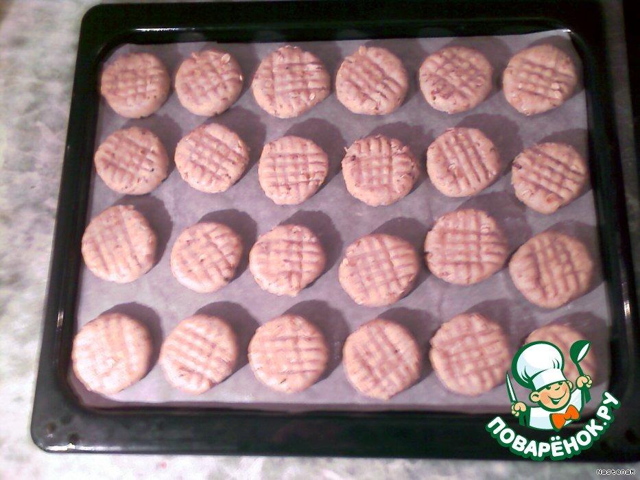 Овсяное печенье с кокосом