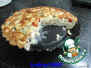 ПРИЯТНОГО АППЕТИТА!   Рыбу можно заменить на брокколи, и не пицца это, НЕ пицца, ПИРОГ!