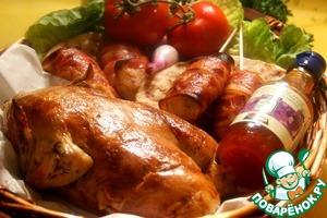 Рецепт: Пикничная курица