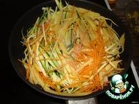 Спагетти из овощей ингредиенты