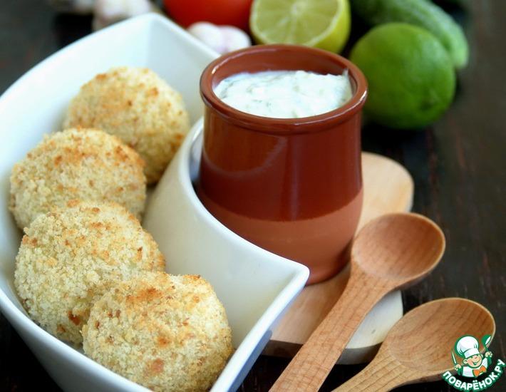 Рецепт: Картофельные крокеты, фаршированные курицей