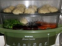 Тефтели Морские с овощами ингредиенты