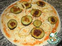 Пицца с баклажанами и кальмарами ингредиенты