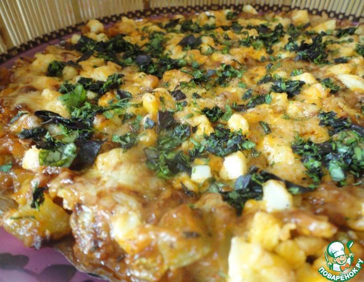 Рецепт: Кабачки по-итальянски