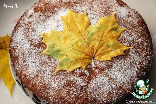 """Торт """"Кленовый лист"""""""