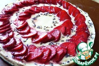 Рецепт: Тарт с лавандой, йогуртовым кремом и сезонными ягодами
