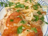 Запеченная курица в соусе из помидоров ингредиенты