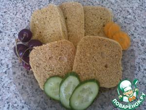 Рецепт Хлеб для диеты Дюкана (в микроволновке)