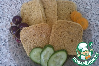 Рецепт: Хлеб для диеты Дюкана в микроволновке