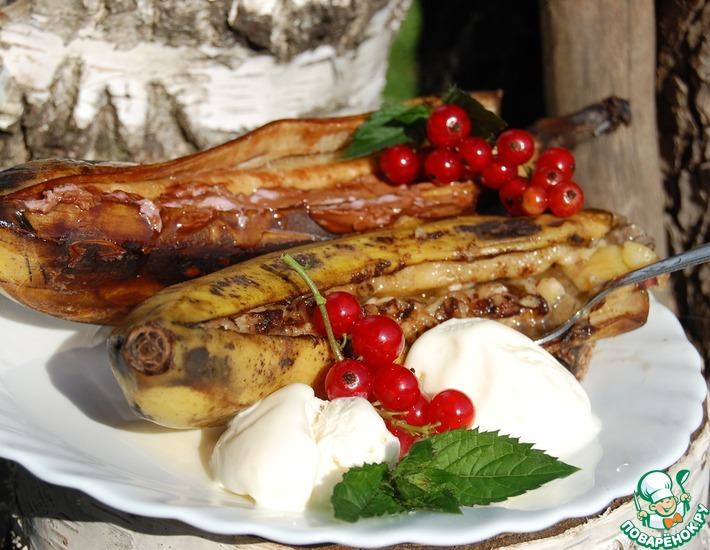 Рецепт: Десертный банан