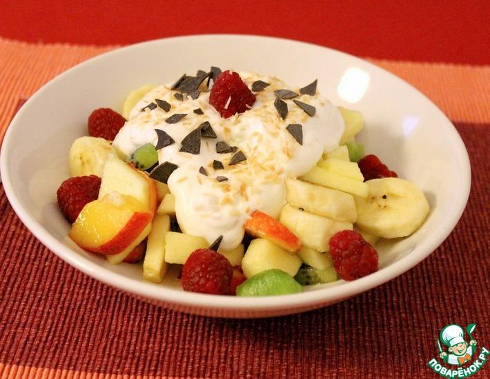 японский фруктовый салат рецепт