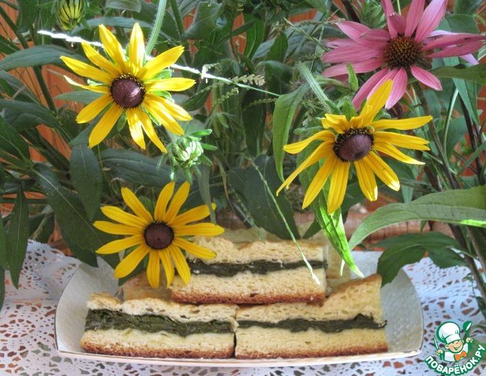 Рецепт: Пирог со щавелем Лето, ах лето...
