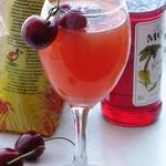 Апельсиновый коктейль с сиропом Гренадин